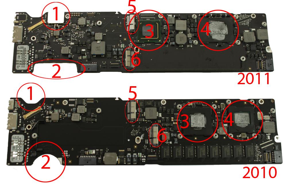 logic board macbook air a1369 2011