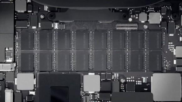 Модули RAM в Macbook Pro Retina