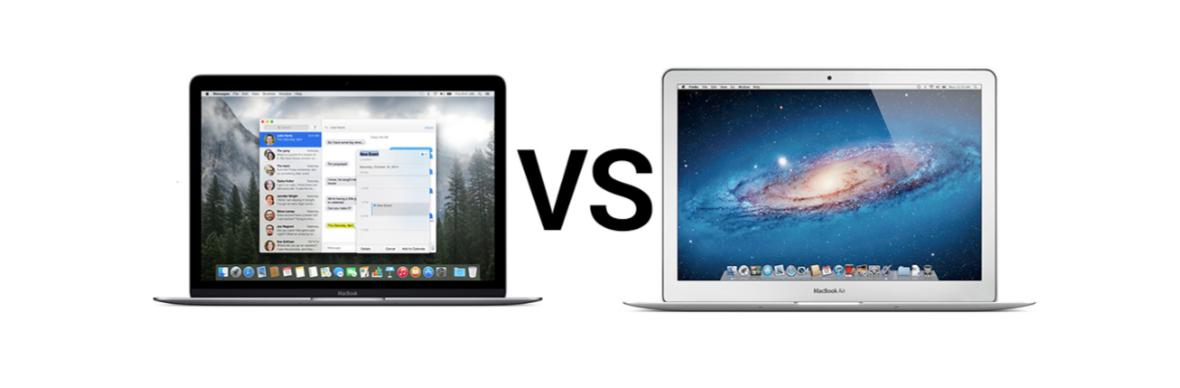 "macbook air и macbook 12"" retina"