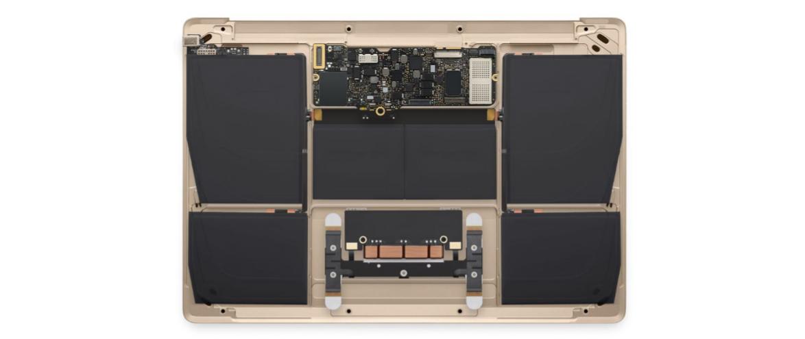 macbook 122 REtina внутри