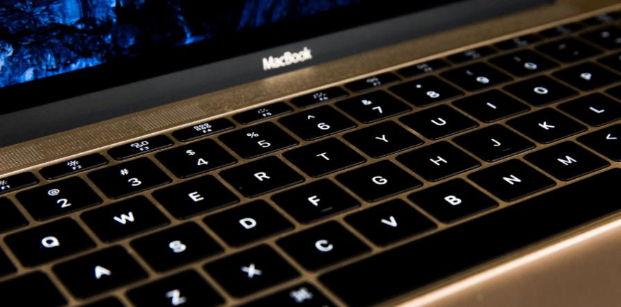Клавиатура с подсветкой на macbook 12 retina