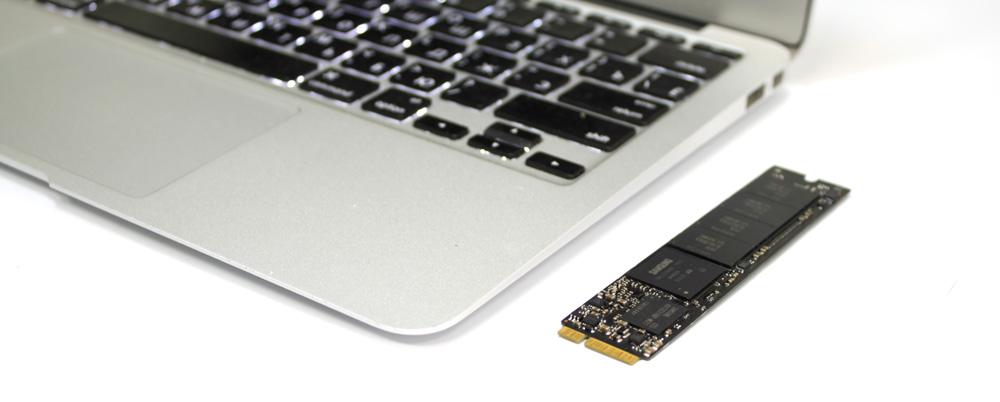 Установка SSD на MacBook Air