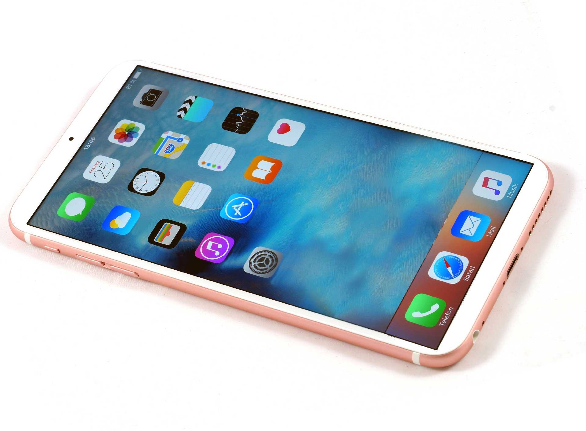 iphone 7 без динамика и кнопки home