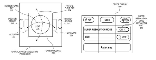 патент apple на съемку в superresolution mode