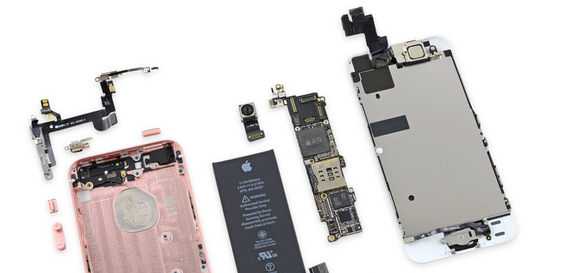iphone se disassembly