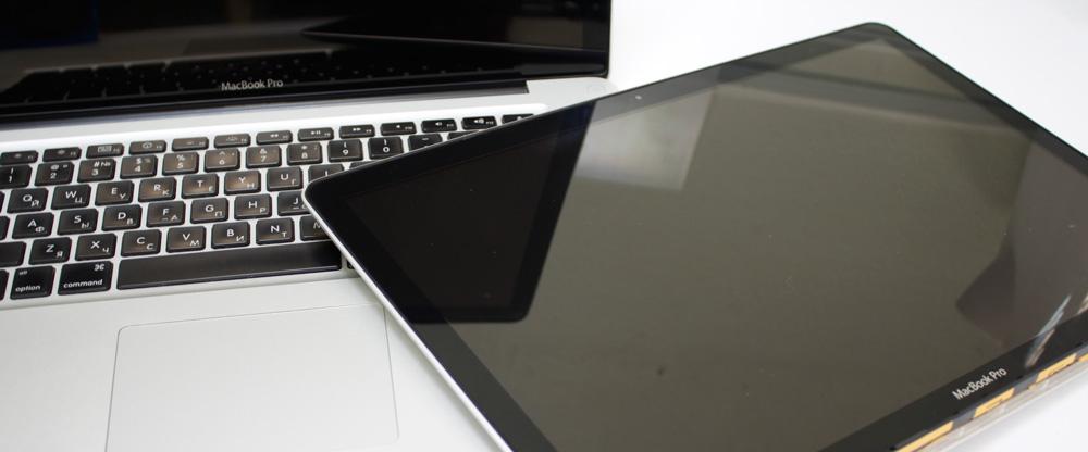 Замена матрицы, дисплея в сборе Macbook